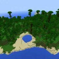 Сид на Остров с джунглями MCPE 1.2