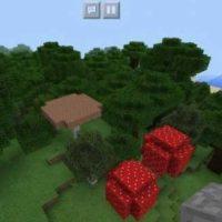 Сид Большой зловещий лес с грибами для MCPE 1.2