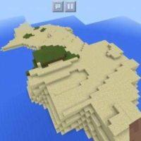 Сид на небольшие скайблок острова для MCPE 1.2