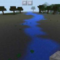 Сид на болото, водоемы и тёмные леса для MCPE 1.2