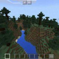 Сид на огромный хвойный лес для MCPE 1.2