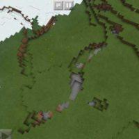 Сид на снежный биом и расщелины для Майнкрафт 1.2