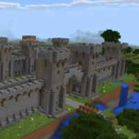 Карта Приключения в Замке для Майнкрафт 1.3