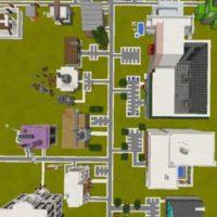 Карта Elmsville: A Modern City для MCPE 1.4