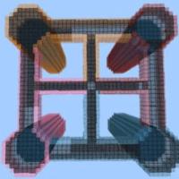 Карта Карта The Four Pillars для MCPE 1.5