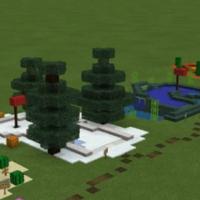Карта Matt's Minigolf: Biomes Edition для MCPE 1.5