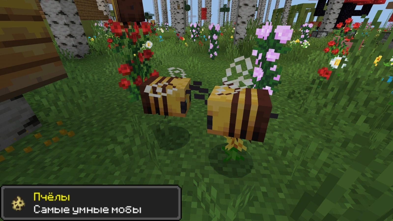 Pcheli v Minecraft PE 1.14.30