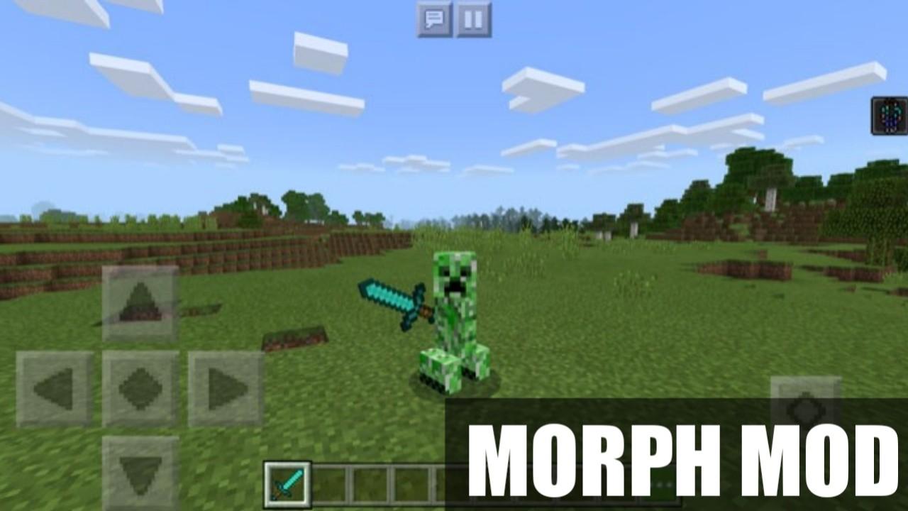 Мод на превращения Morph Mod на Minecraft PE