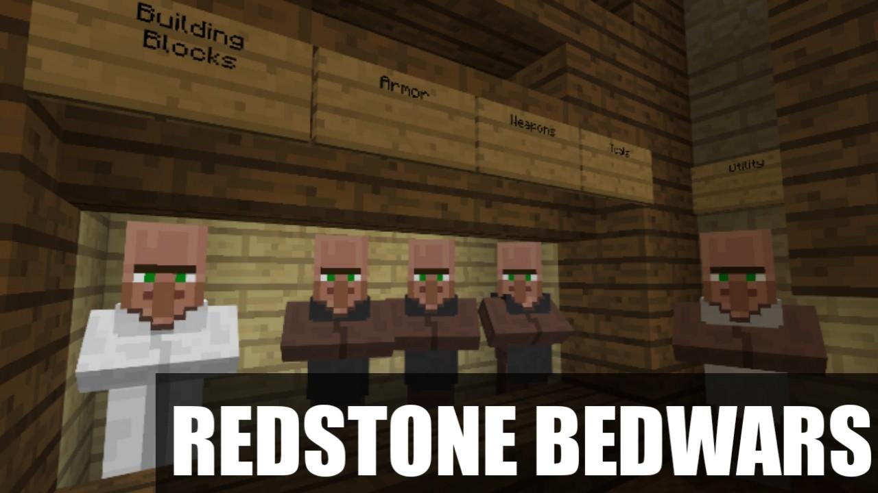 Карта на Бед Варс Redstone Bedwars для Майнкрафт ПЕ