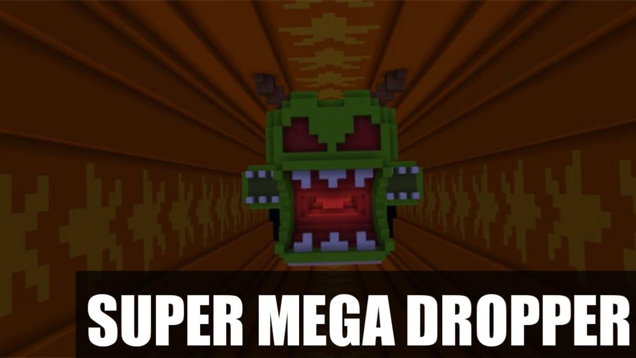 Карта на дроппер Super Mega Dropper для Майнкрафт ПЕ