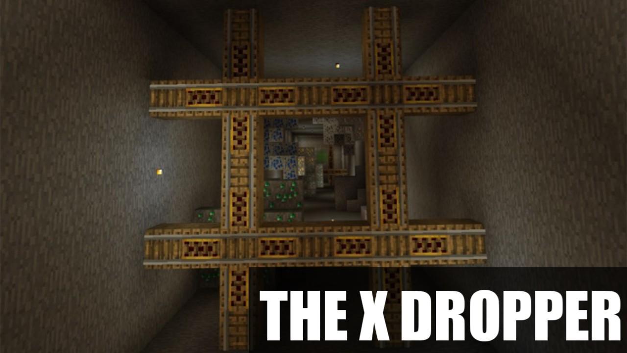 Карта на дроппер The X Dropper для Майнкрафт ПЕ