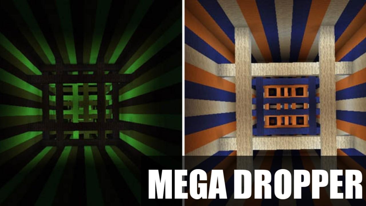 Карта на дроппер Mega Dropper для Майнкрафт ПЕ