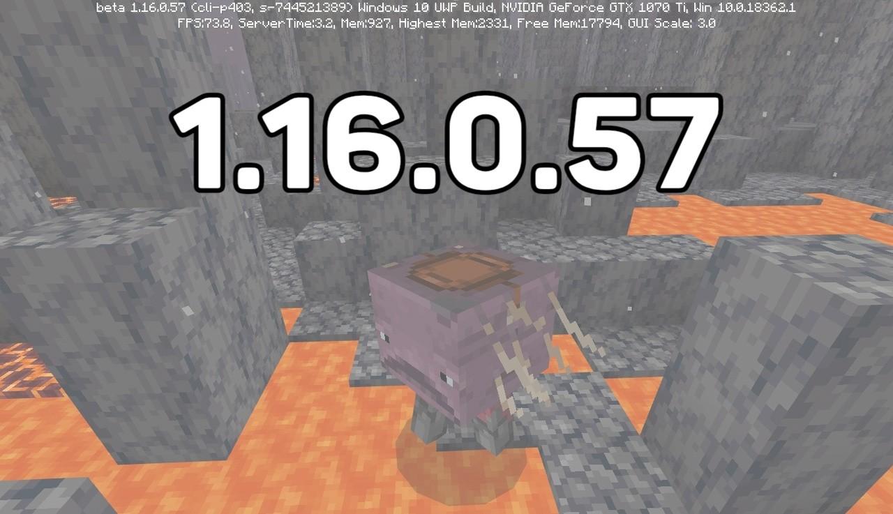 Скачать Майнкрафт 1.16.0.57