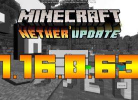 Скачать Майнкрафт 1.16.0.63 Бесплатно
