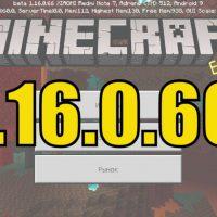 Скачать Майнкрафт 1.16.0.66 Бесплатно