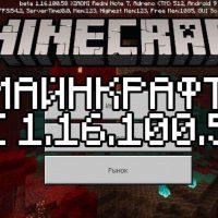Скачать Майнкрафт 1.16.100.58 Бесплатно