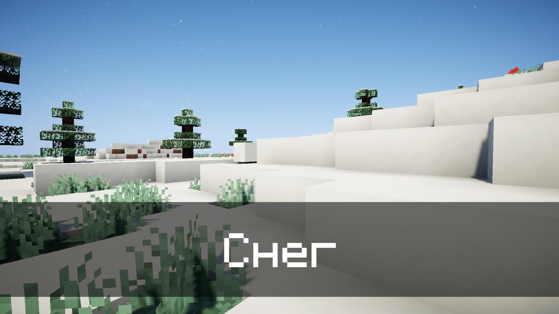 Новый снег в Minecraft PE 1.17.0