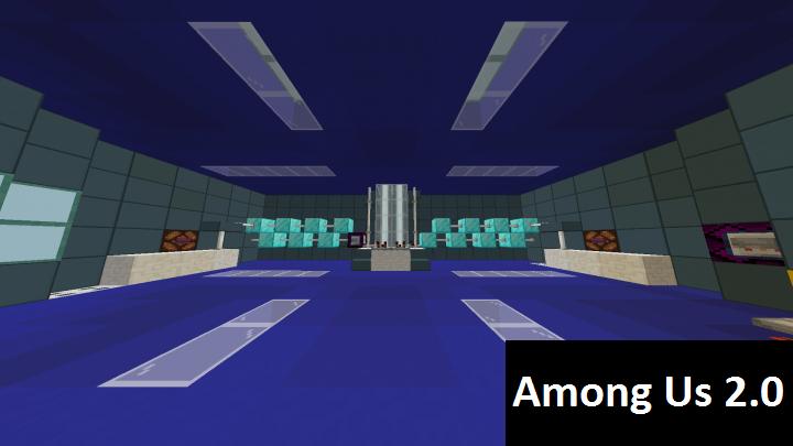 Карта на Among Us 2.0 в Майнкрафт ПЕ