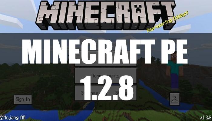 Скачать Minecraft PE 1.2.8