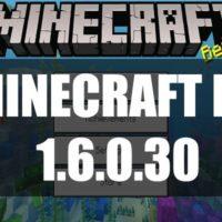Скачать Майнкрафт 1.6.0.30 Бесплатно