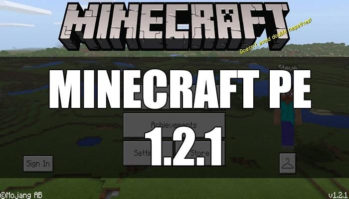 Скачать Minecraft PE 1.2.1