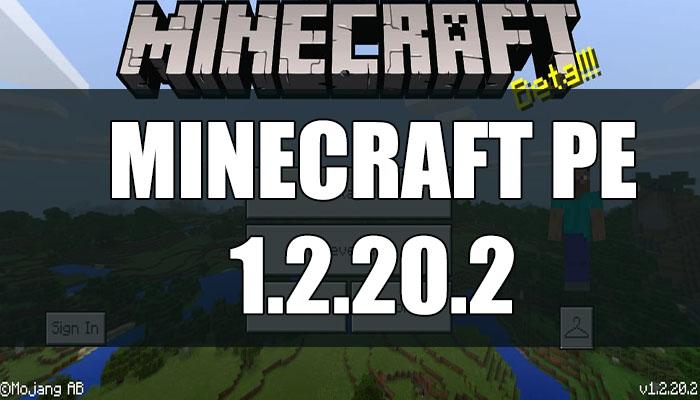 Скачать Minecraft PE 1.2.20.2