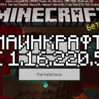 Скачать Майнкрафт 1.16.220.52 Бесплатно