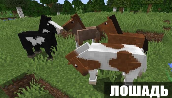 Лошадь в Майнкрафт 0.15.2