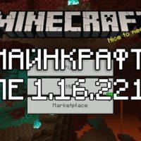 Скачать Майнкрафт 1.16.221 Бесплатно