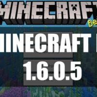 Скачать Майнкрафт 1.6.0.5 Бесплатно