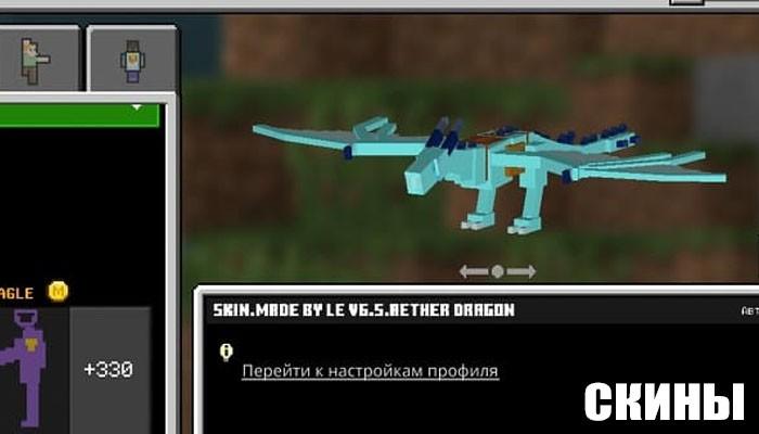 5D скины для Minecraft PE
