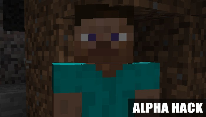 Чит AlphaHack для Minecraft PE
