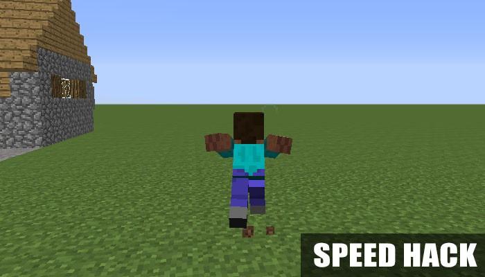 Чит SpeedHack для Minecraft PE