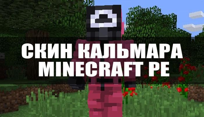 Скин Кальмара для Minecraft PE